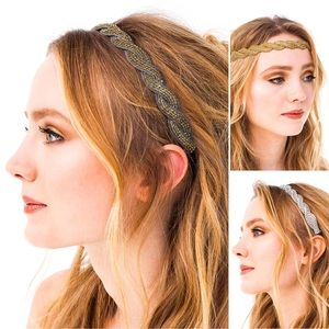 Deepa Gurnani Hand Embroidered Ashely Headband